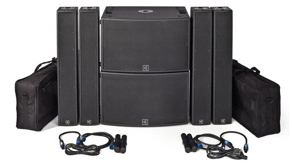 38 Line Array Speakers for Large Venues