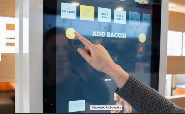 McDonald's Rolls Out Touchscreen Menu Kiosks, slide 0