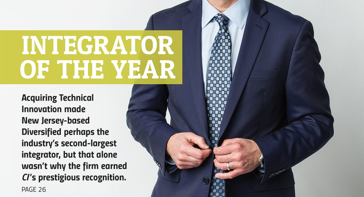 Diversified Named 2016 Integrator of the Year