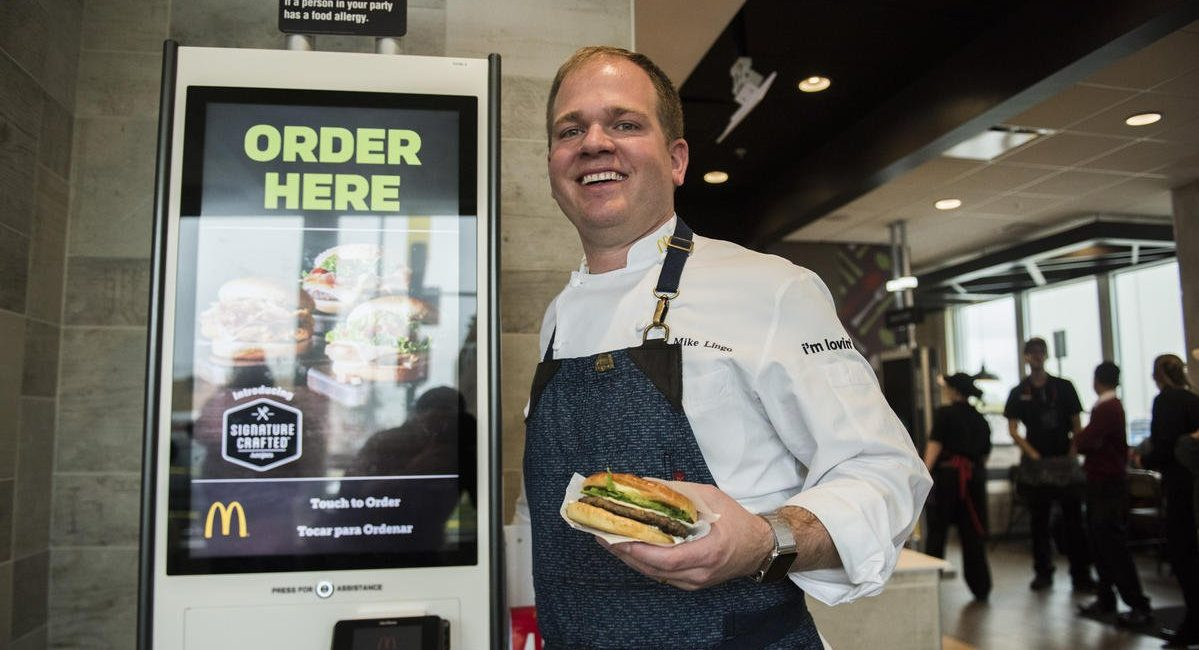 McDonald's Just For You Touchscreen Kiosks Expanding Across Boston Area