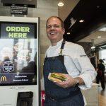 McDonalds Just for You Touchscreen Kiosk