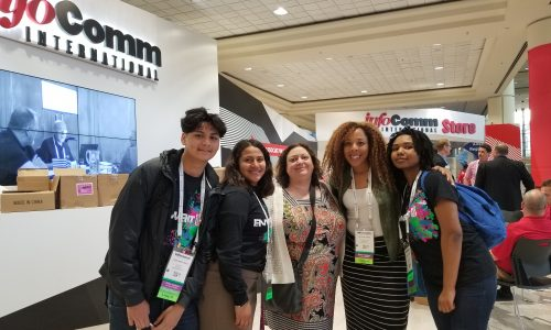 High School Students See into Future with EnventU at InfoComm 2017