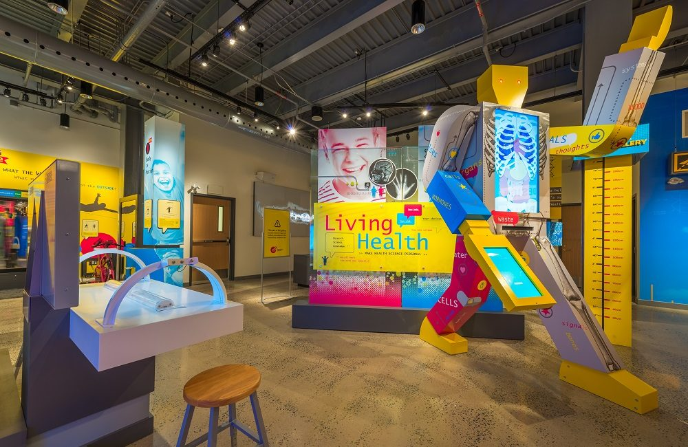 Backman Vidcom Integrates Interactivity into Children's Museum