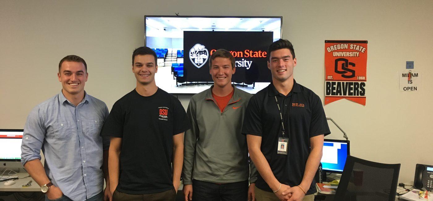 OSU Students Work at AV Help Desk, Now They Have Eyes on AV Careers