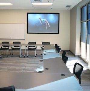 Parallax, Da-Lite, Lindenwood University, ALR Projection Screens