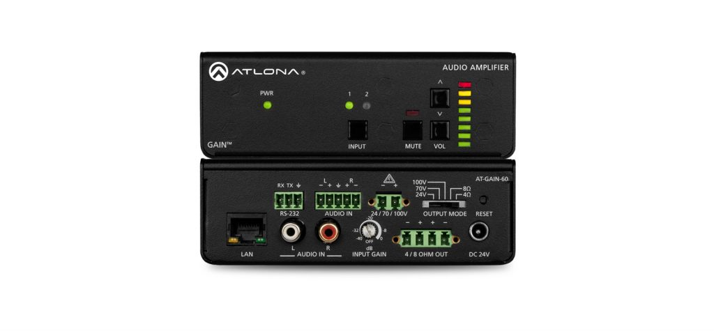networked amplifiers, Altona, Gain Series