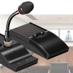 TAIDEN, infrared audio, ISE 2018, mid-sized meeting rooms, Wireless Discussion Microphones