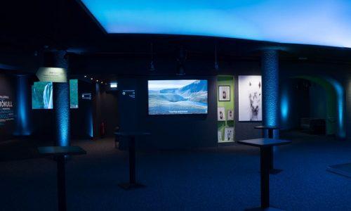 Avio Control System, Tales from Iceland Museum, AV Stumpfl, 4K UHD