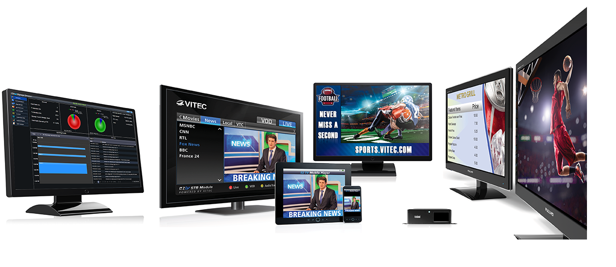 VITEC EZ TV IPTV Is Front-and-Center for Its First ISE