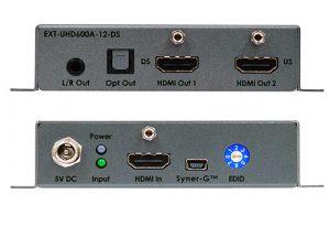 Gefen 4K Ultra HD, 600MHz 1:2 Scaler, EDID