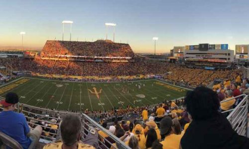 SunBriteTV, Arizona State University, Sun Devil Stadium