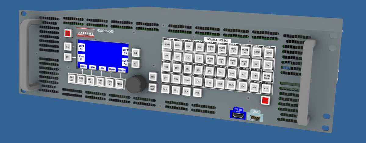 ISE 2018: Calibre HQUltra4030 Switcher Supports 40 Sources