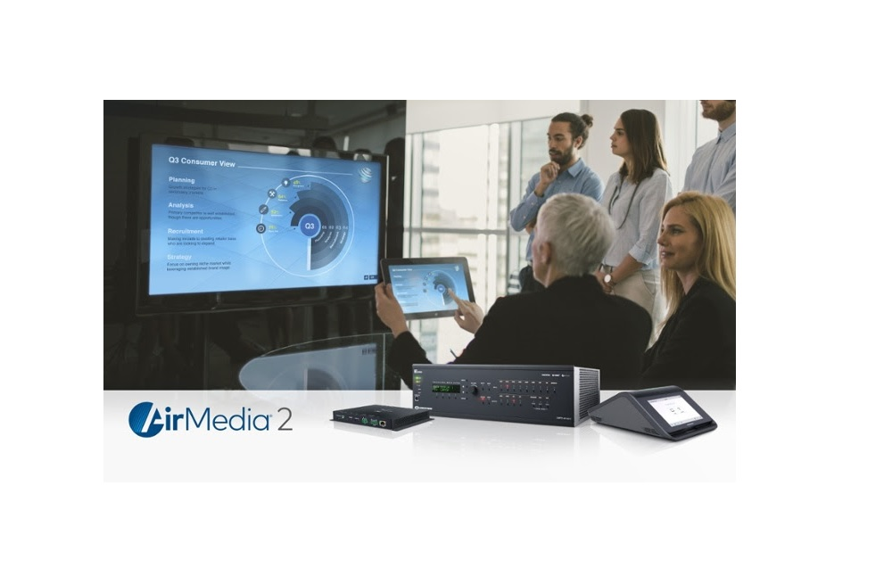 Next-Generation Crestron AirMedia 2.0 Wireless Presentation Technology Debuts at ISE 2018