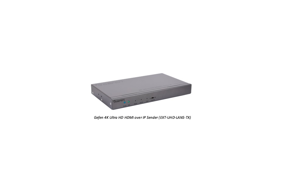 Gefen 2nd-Gen AV-over-IP Available for Preorder