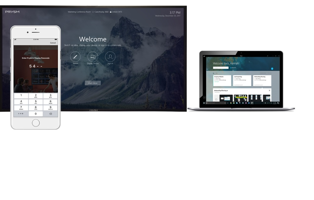 Prysm Announces Windows and IOS Apps for Visual Collaboration Solution