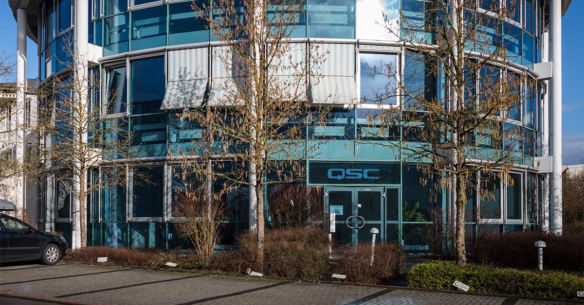 QSC Establishes EMEA Headquarters in Germany