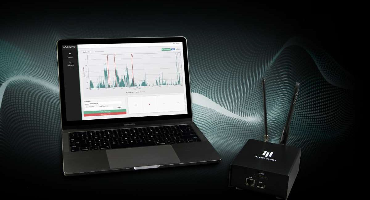 RF Venue WaveTower Software-as-a-Service Tackles RF Spectrum Interference