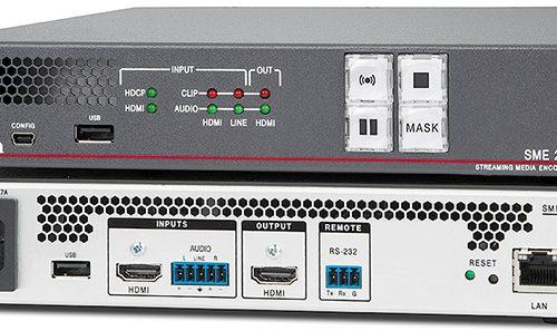 Streaming Media Encoder, Extron encoder, Extron SME 211