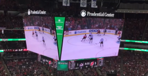New Jersey Devils, 4K LED scoreboard, Absen, Trans-Lux Corporation, Prudential Center