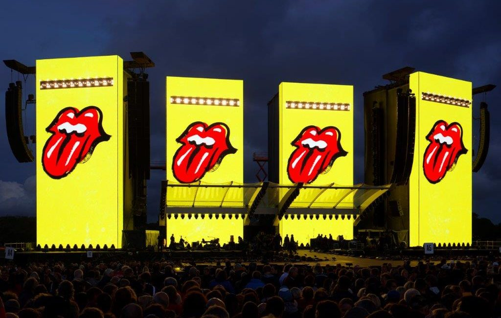 Rolling Stones No Filter Tour: A Fresh Look for a Classic Band, Thanks to disguise Media Servers