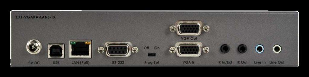 Gefen EXT-VGAKA-LANS-TX Rear resized