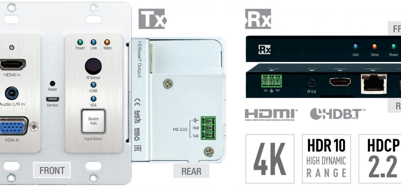 Key Digital Introduces VGA/HDMI Input Plate Extender Kit