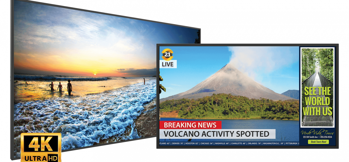 Leyard and Planar Expand Simplicity Series 4K LCD Display Line