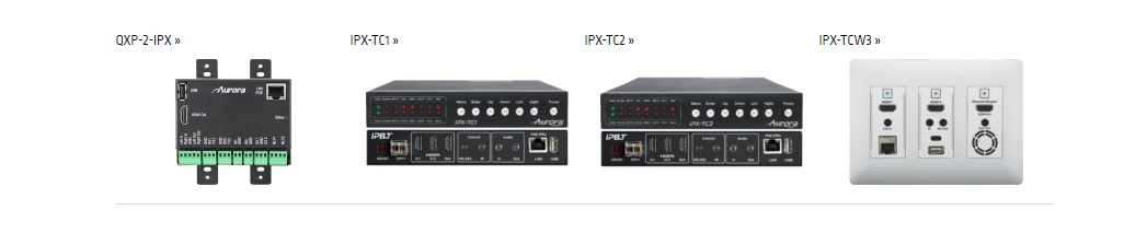 Aurora IPX Series for IP Streaming Eliminates Need for an Encoder AND Decoder