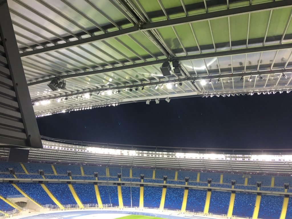 Śląski Stadium, stadium technology, stadium AV, Community Loudspeakers