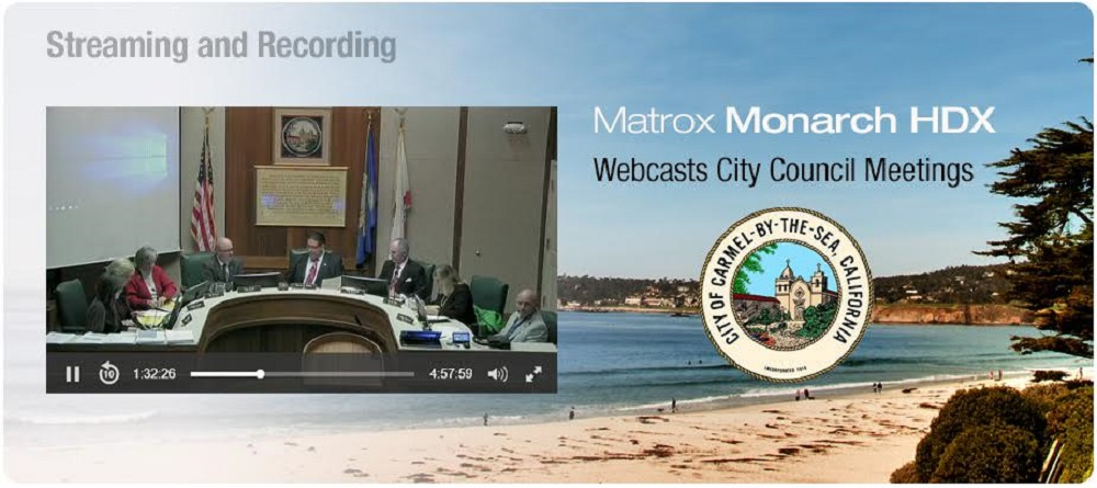 Atypical Government Project Uses Matrox Streaming Technology to Keep Active Citizens Informed