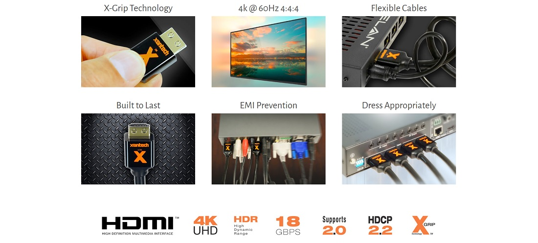 Xantech Debuts A Slew of Affordable HDMI Distribution Extenders, Splitters & Switches
