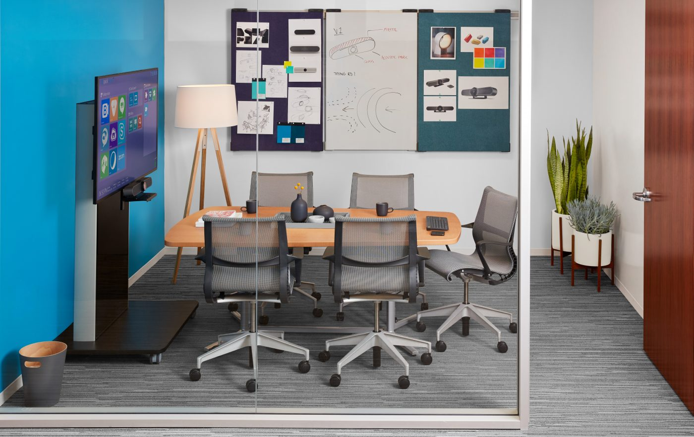 Logitech and Herman Miller