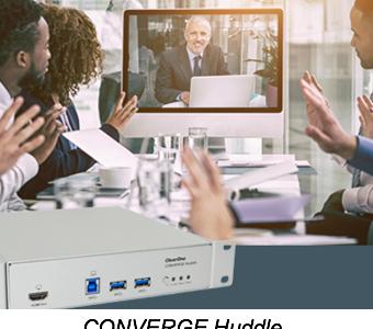 CONVERGE Huddle, InfoComm, InfoComm 2018, AV over IP streaming, ClearOne