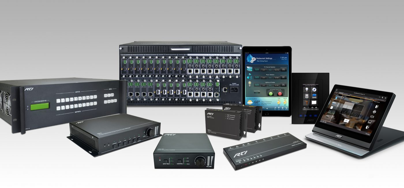 RTI Highlights End-to-End AV Control and Automation Solutions at InfoComm 2018