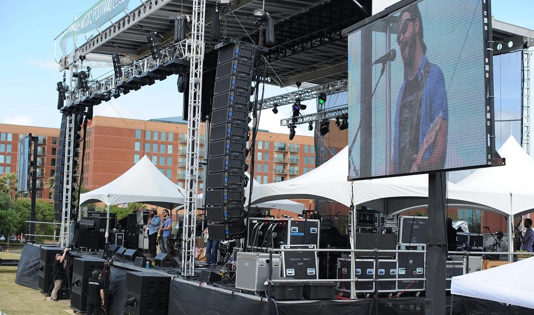 Meyer Sound LEO System Helps Savannah Music Festival Move Outdoors, Where It Really Belongs