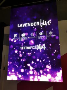 HDR, SiliconCore LavenderLIVE, smallest pixel pitch, LED display, InfoComm, InfoComm 2018