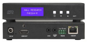 Hall Research, Hall Research InfoComm, Video over IP, USB extender, InfoComm 2018