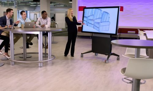 Watch: Rapidly Deployable Huddle Stations from the Salamander Designs InfoComm Booth