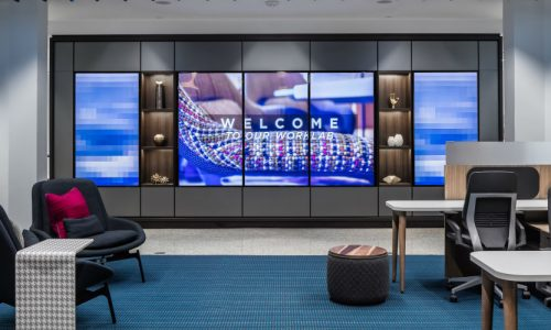 AVI-SPL Collaboration Tech Solution Serves Two Purposes at Atmosphere Commercial Interiors HQ