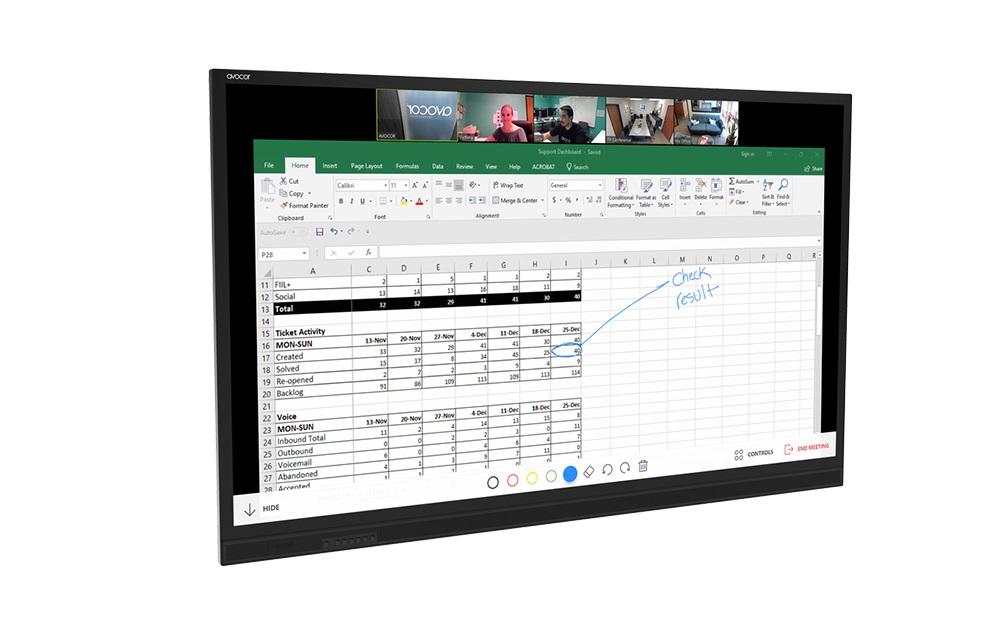 AVOCOR E Series Display Are 'Reasonably Priced' 4K,  Plus IR Touch