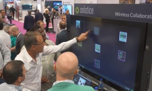 Inside the Mersive InfoComm 2018 Booth: Solstice Kepler a New Take on Meeting Analytics
