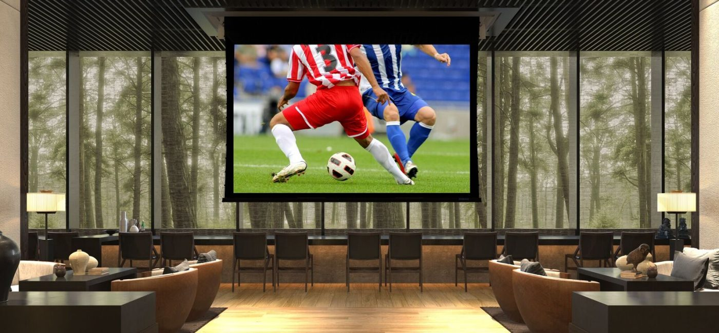 Stewart Filmscreen Showcasing Extra-Large, Seamless Screen Capabilities at InfoComm 2018