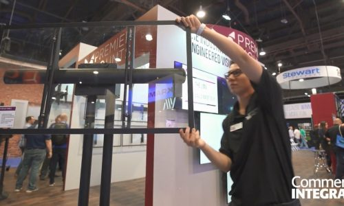 AV on the Move: Solutions From the Premier Mounts InfoComm 2018 Booth