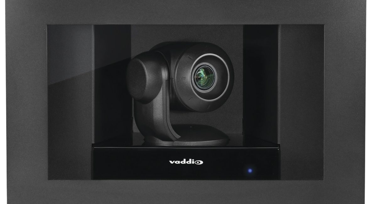 New Vaddio In-Wall Camera Enhances Interior Design & Privacy