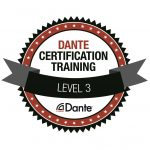 Audinate Dante Level 3, certification, Dante training