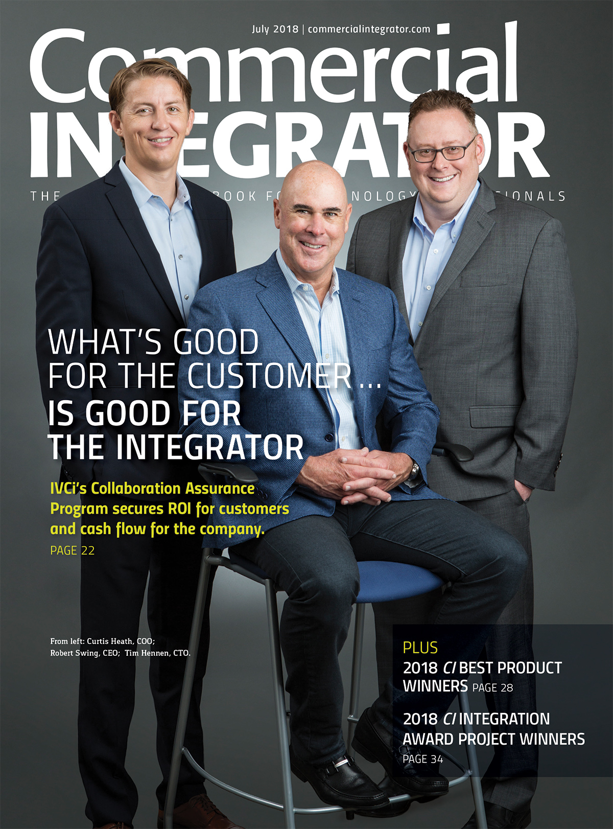 July 2018: Commercial Integrator
