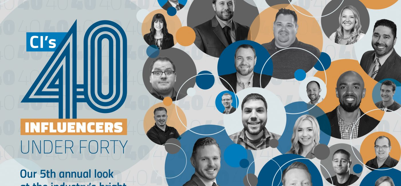2019 CI 40 Under 40 Moving to Pre-InfoComm; Nominations Now Officially Open