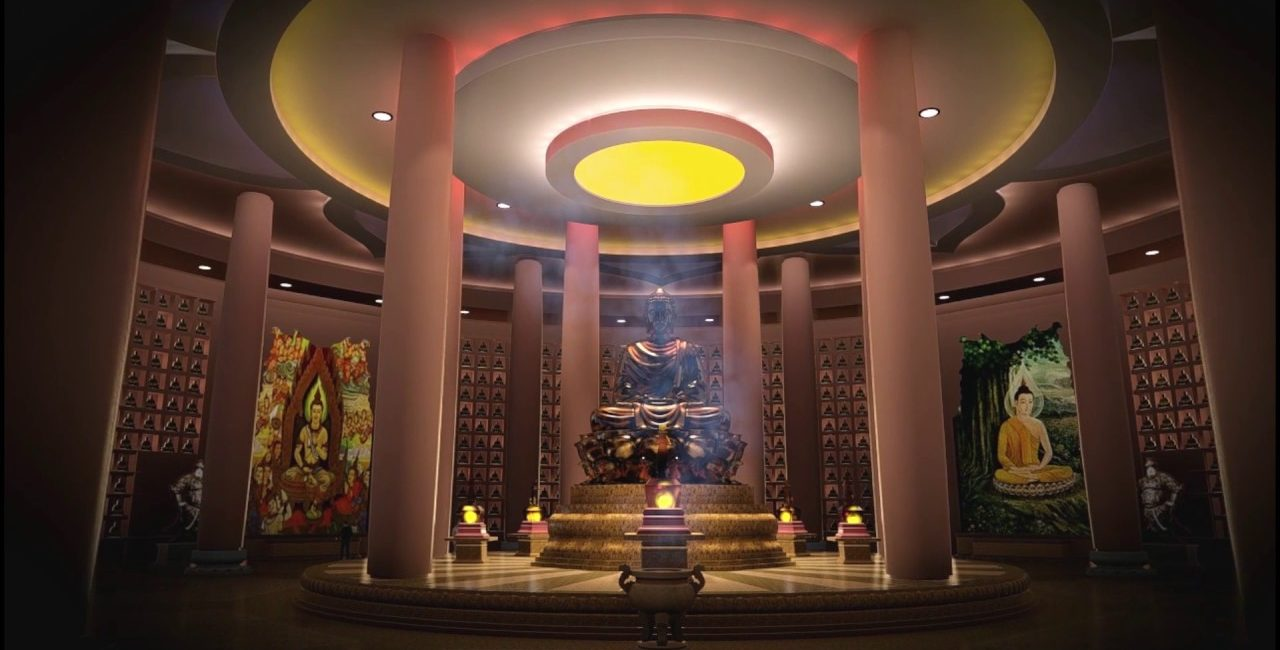 How to Future-Proof a Temple: Audio Added to Spiritual Dharma Complex With 50-Foot-High-Ceilings