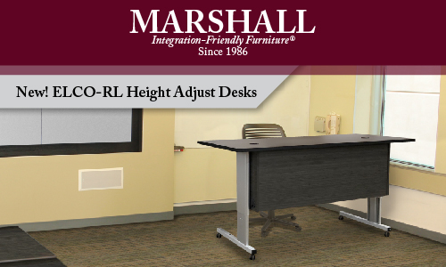 Simple But Mighty Marshall Furniture S Elco Rl Desks Tackle Ada