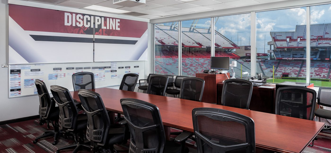Privacy and Professionalism the Focus as Elite Audio Installs Shades for Williams-Brice Stadium